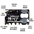 The Wallet Ninja - 16-in-1 Multi-Tool