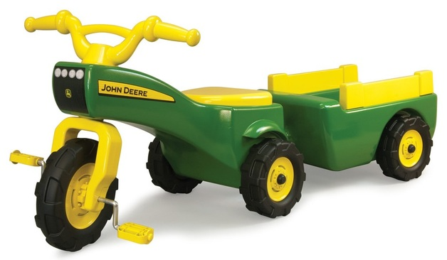 John Deere: Trike and Wagon Pedal Ride-on