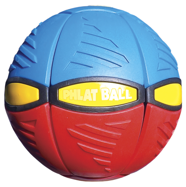 Britz'n Pieces: Phlat Ball V3 - Red/Blue