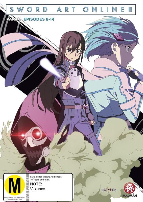 Sword Art Online 2 (Part 2) on DVD