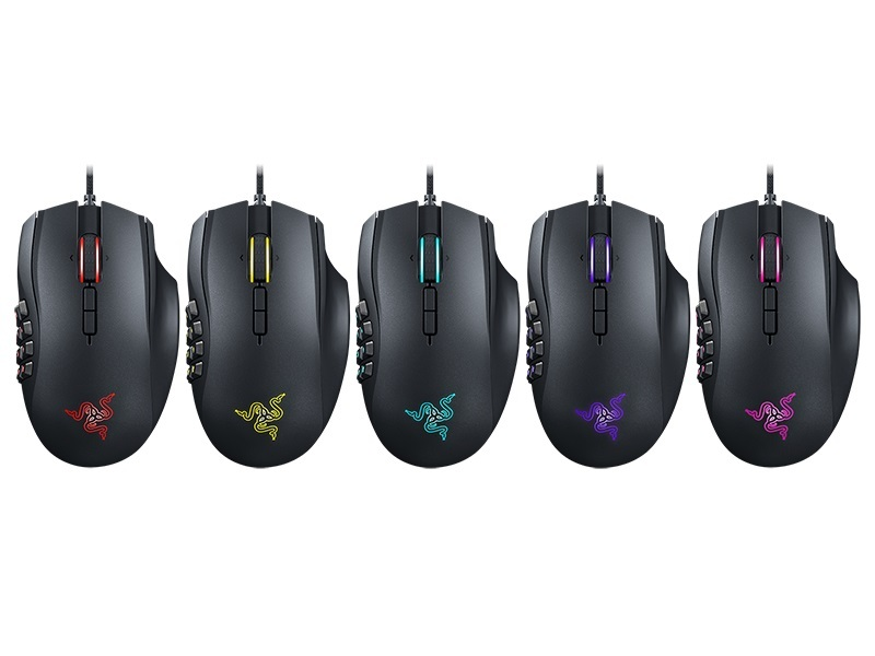 Razer Naga Chroma Multi-color MMO Gaming Mouse for PC Games image