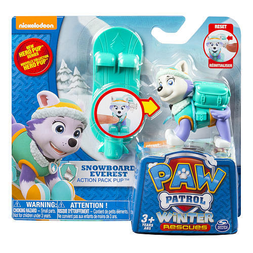 Paw Patrol  Hero Action Pup - Snowboard Everest 5ad26d8468