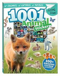 Flying Start 1001 Amazing Animals Stickers Book image