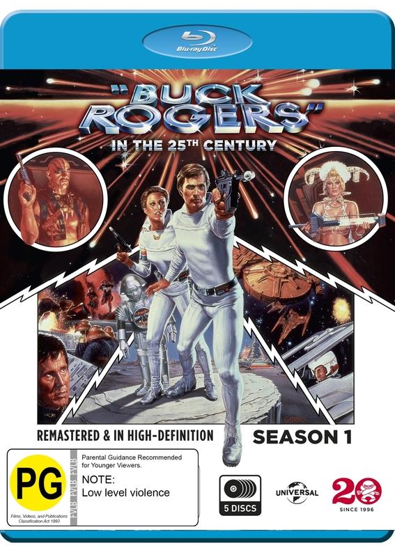 Buck Rogers In The 25th Century - Season One on Blu-ray