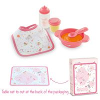 Corolle Doll Accessories: Mon Premier Mealtime Set