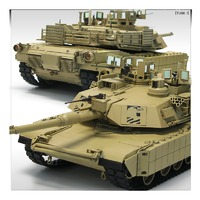 Academy 1/35 Us Army Tusk M1A2 Scale Model Kit