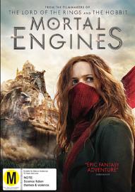 Mortal Engines on DVD image