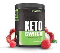 Keto Switch - Ketogenic Performance Fuel - BHB Ketones - Lychee (40 Serves)
