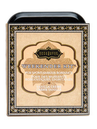 Kama Sutra Sensual Weekender Kit - Vanilla Creme