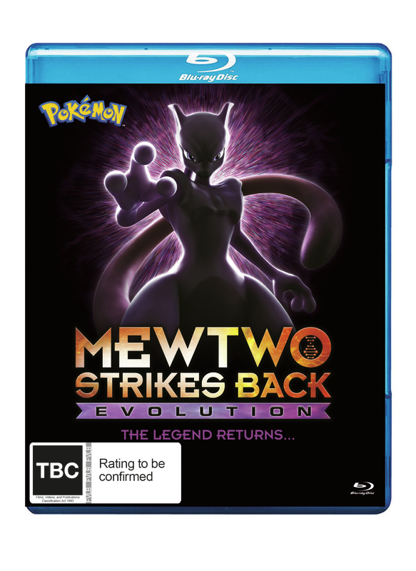 Pokémon Movie 22: Mewtwo Strikes Back - Evolution on Blu-ray