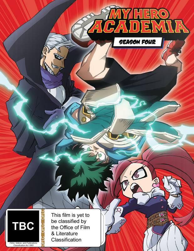 My Hero Academia: Season 4 - Part 2 (DVD / Blu-ray Combo) (Limited Edition) on Blu-ray