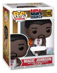 Team USA 1992: Magic Johnson (White) - Pop! Vinyl Figure