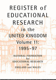 Register of Educational Research in the United Kingdom