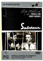 Saboteur on DVD