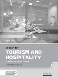 English for Tourism and Hospitality in Higher Education Studies by Hans Mol image