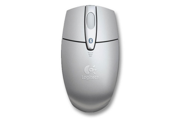 LOGITECH V270 Cordless Optical Notebook Mouse for Bluetooth (silver) **For Laptops with on board bluetooth only** image