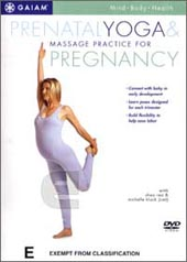 Pre-Natal Yoga And Massage Practice For Pregnancy on DVD