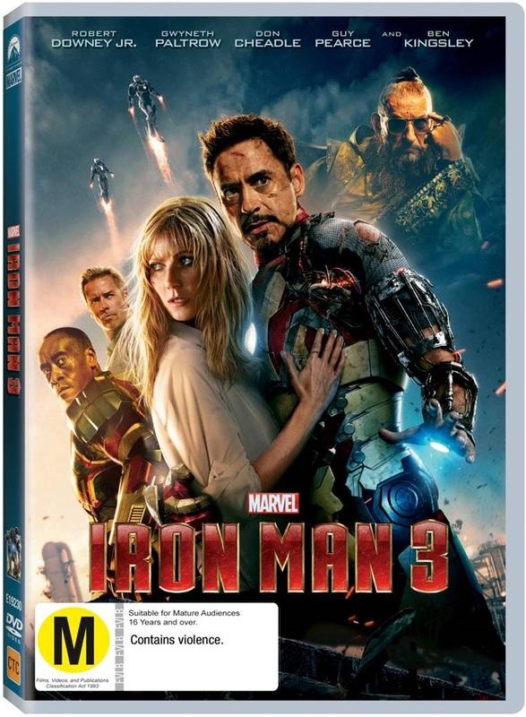Iron Man 3 on DVD