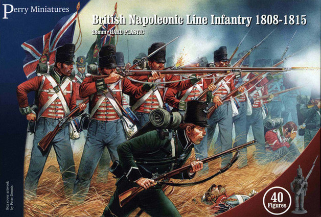 Napoleonic Wars: British Line Infantry 1808-1815