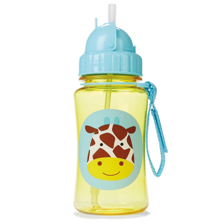 Skip Hop Zoo Straw Bottle-Giraffe image