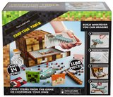 Minecraft Crafting Cubes: Crafting Table Playset