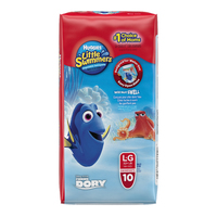 Huggies Little Swimmers Swimpants - Large 14+ kg (10) image