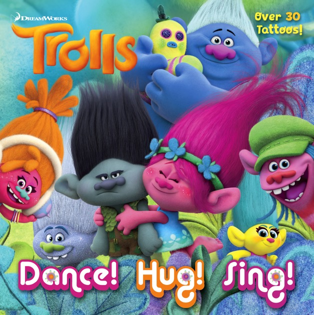 Trolls Deluxe Pictureback with Tattoos (DreamWorks Trolls) by Random House