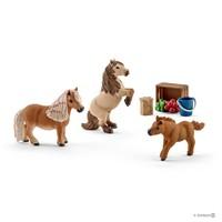 Schleich: Miniature Shetland Pony Family