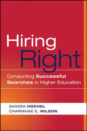 Hiring Right by Sandra Hochel image