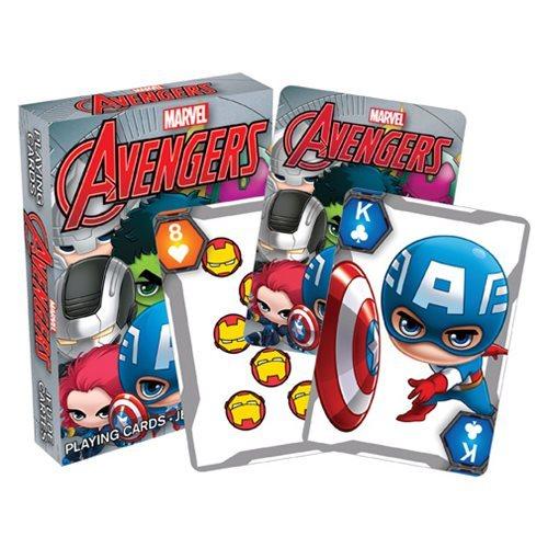 Marvel: Chibi Avengers - Playing Cards