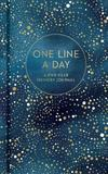 One Line A Day: Reflection Journal - Celestial