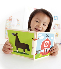 Hape: At the Farm Wooden Book image