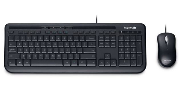 Microsoft Wired Desktop 600 - Keyboard & Mouse