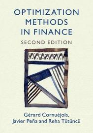Optimization Methods in Finance by Gerard Cornuejols