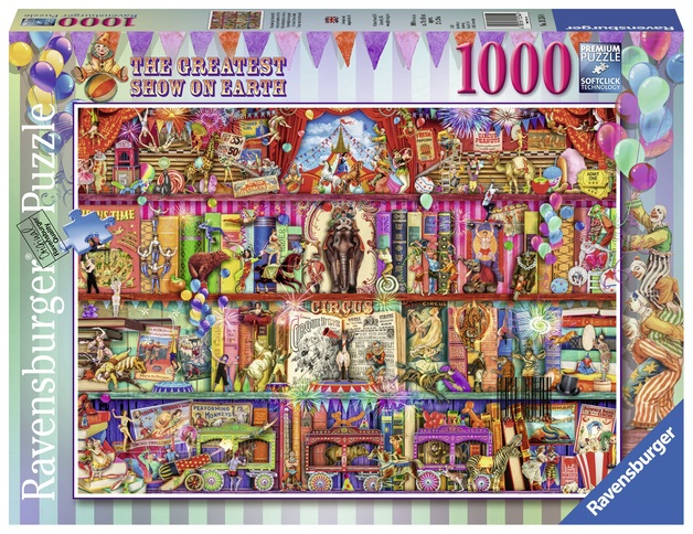 Ravensburger: 1,000 Piece Puzzle - The Greatest Show on Earth