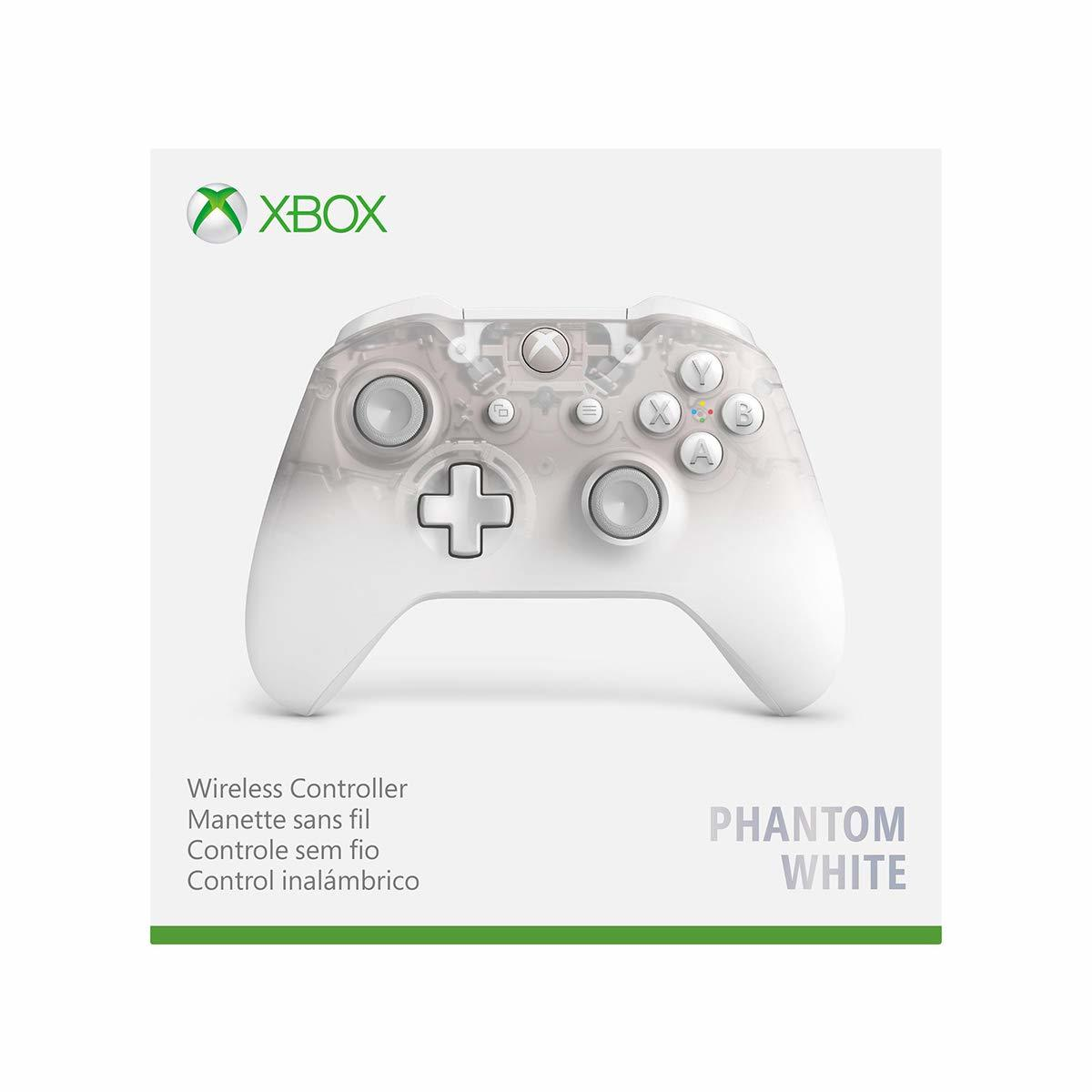 Xbox One Wireless Controller - Phantom White Special Edition screenshot