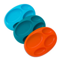 Boon Platter - Blue (3 Pack)