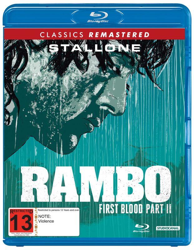 Rambo: First Blood Part II on Blu-ray
