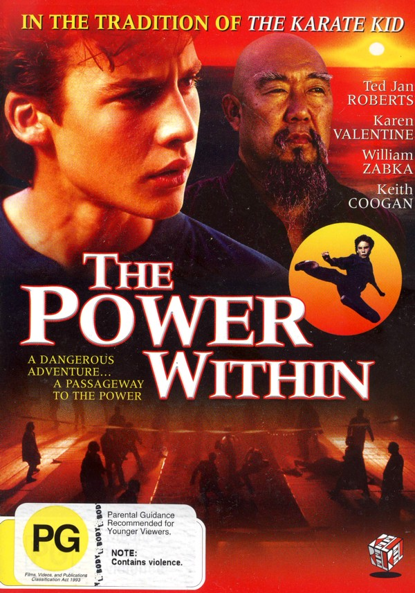 The Power Within on DVD image