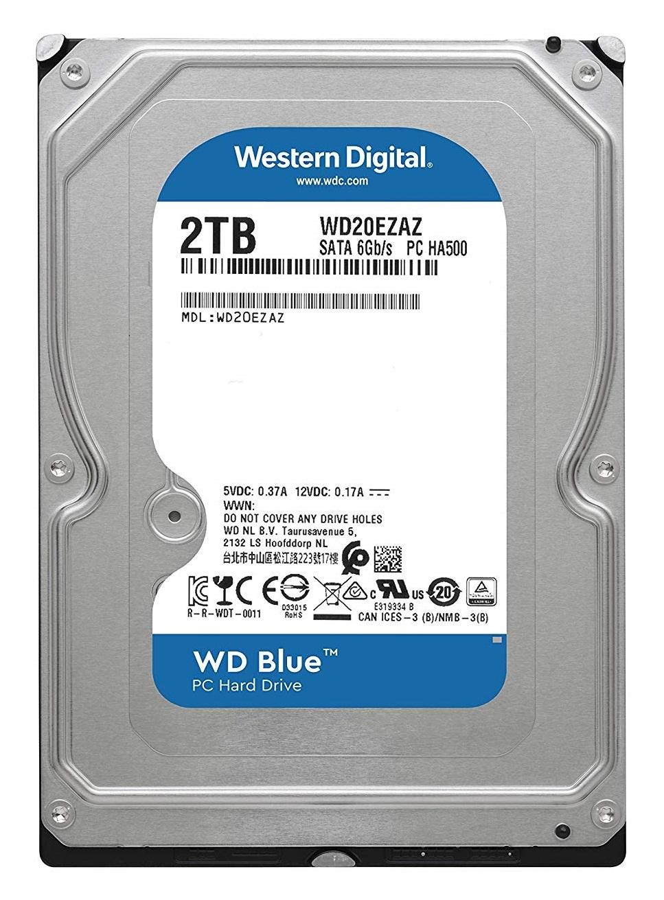 2TB WD Blue Hard Drive image