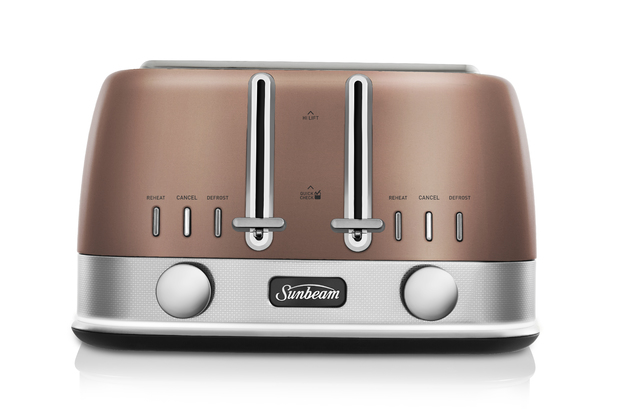 Sunbeam: New York Collection 4 Slice Toaster - Copper Penny