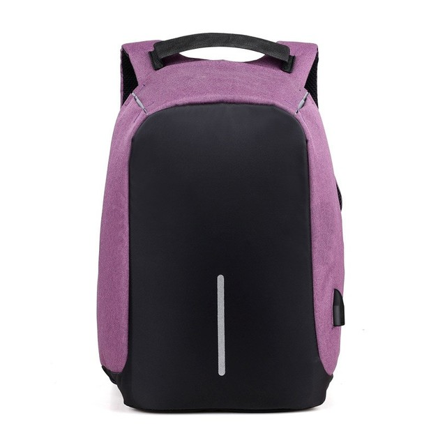 "Ape Basics: 15.6"" Anti-theft Backpack - Purple"