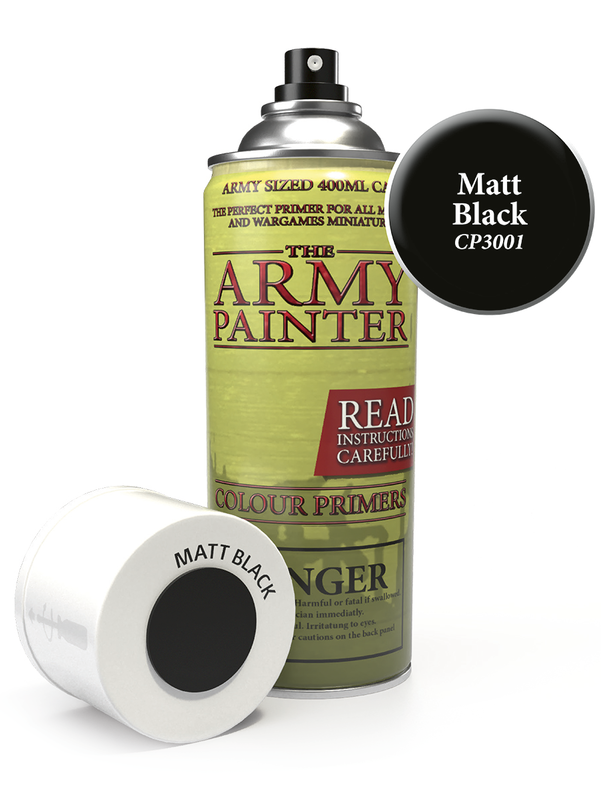 Army Painter: Colour Primer - Matt Black
