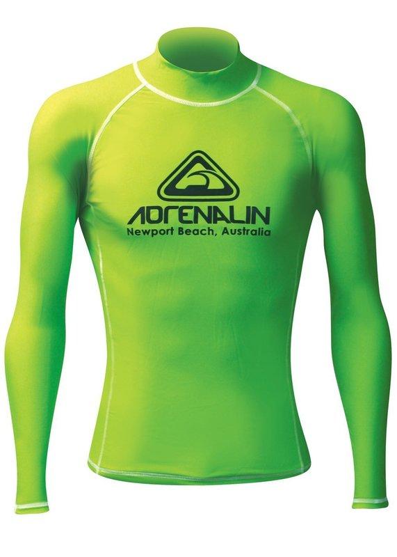 Adrenalin Mens Hi-Viz Rashvest - Lime (Large)