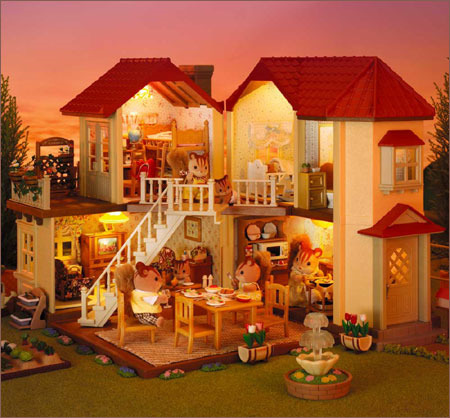 Sylvanian Families Beechwood Hall Toy At Mighty Ape Nz