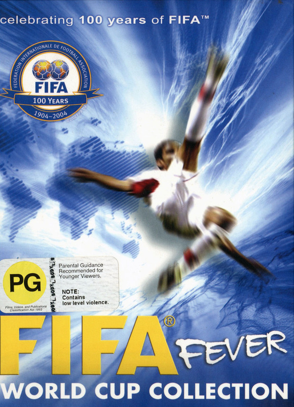 Fifa World Cup Collection (4 Disc) on DVD