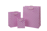 Spotty Pink Bag - Small