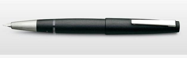 Lamy 2000 Fountain Pen - Black (14kt Gold Medium Nib)