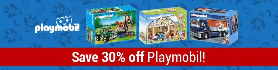 playmobil 30%