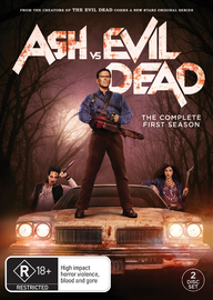 Ash Vs Evil Dead - The Complete First Season DVD